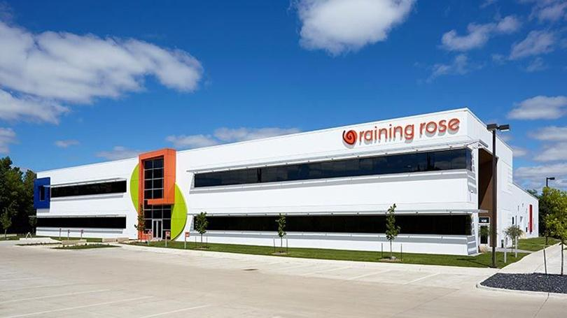 The Raining Rose office and manufacturing facility.